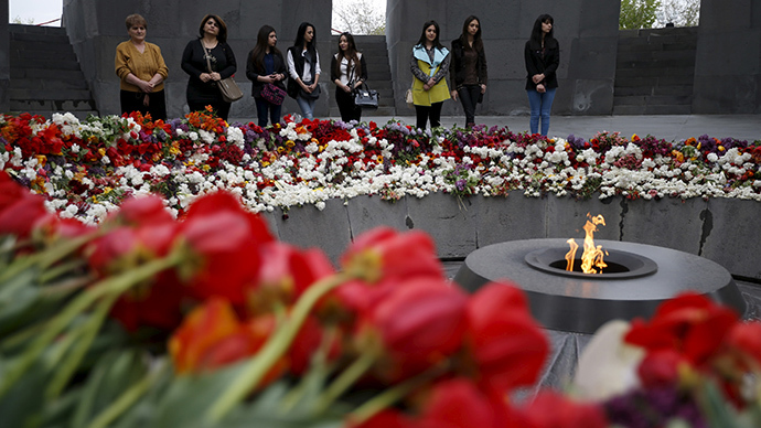 Millions worldwide mark 100th anniversary of Armenian genocide (PHOTO, VIDEO)
