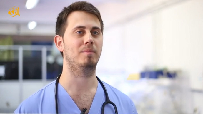 Aussie doc says ISIS needs medical 'brothers & sisters' in 'jihad' against West