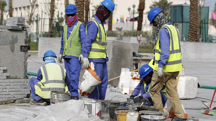 France probes 'dangerous' forced labor allegations in Qatar