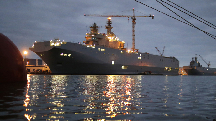 ​France will pay €1.1bn to Russia for cancelled Mistral ships - report