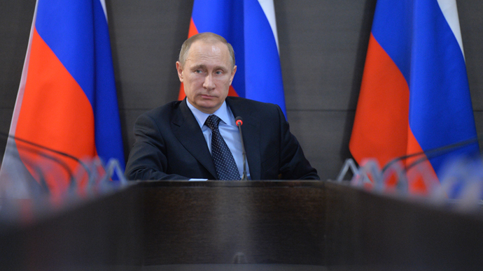 Putin accuses US of backing North Caucasus militants