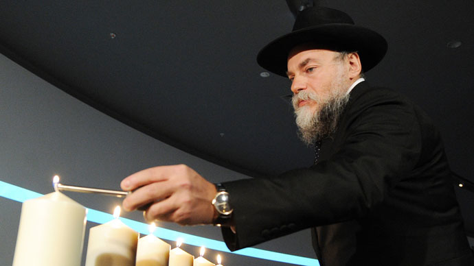 President of the Federation of Jewish Communities of Russia Alexander Boroda (RIA Novosti/Alexey Filippov)