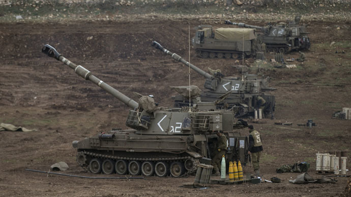 Israeli military strikes Golan Heights to foil terror plot