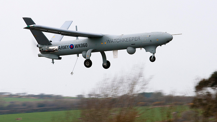 UK could send drones to Mediterranean to aid migrant crisis