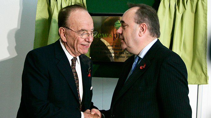 Independent Scotland 'feels inevitable,' says News Corp boss Rupert Murdoch