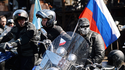 Biker blacklist: Russia's Night Wolves on WWII ride denied entry to Poland