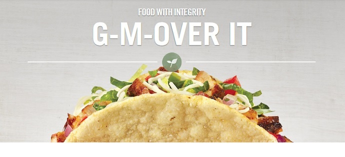Screenshot from Chipotle.com