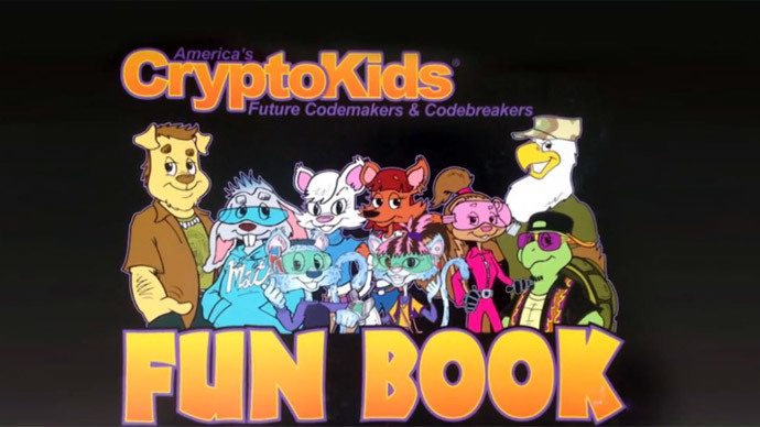 Spying is cool? CryptoKids appeal to children in NSA coloring book