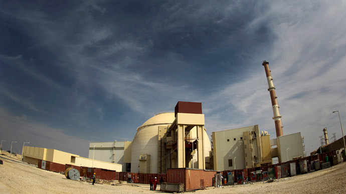 A general view of the Bushehr nuclear power plant, some 1,200 km (746 miles) south of Tehran.(Reuters / IRNA / Mohammad)