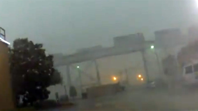 Storm blows freight train off New Orleans bridge (PHOTO, VIDEO)