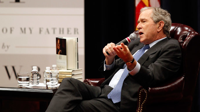 George W. Bush says easing sanctions on Iran is 'naive'