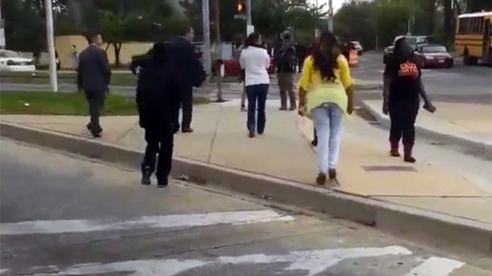 'Mother of the year:' Baltimore woman slaps, scolds rioter (VIDEO)