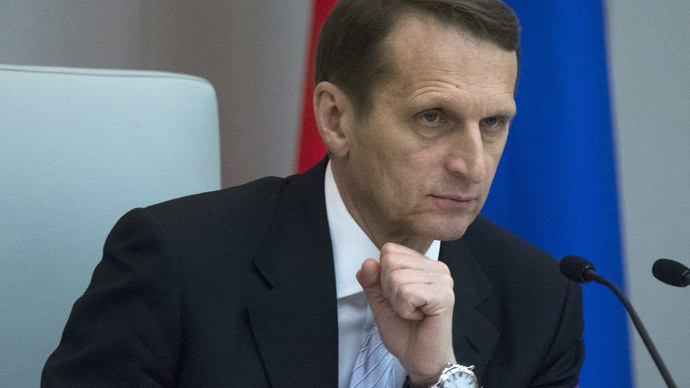 Duma chief urges talks on Russia-EU union