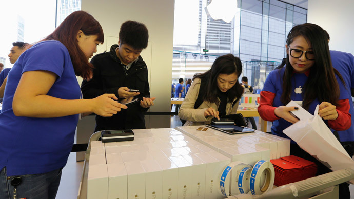 China becomes Apple's biggest market for iPhones