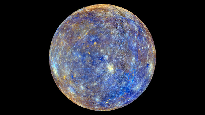​Astonishing images of Mercury captured by NASA spacecraft before smashing into planet