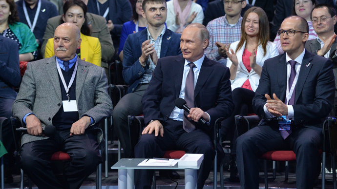 Putin pledges state support for independent mass media
