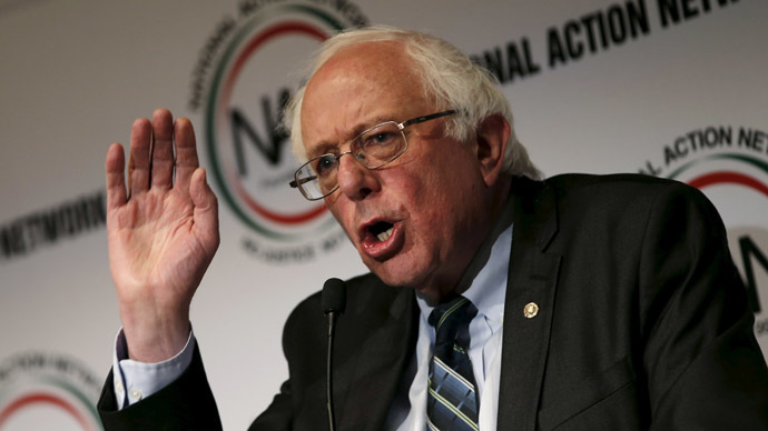 ​Clinton gets competition: Bernie Sanders tells media he's running for president in 2016