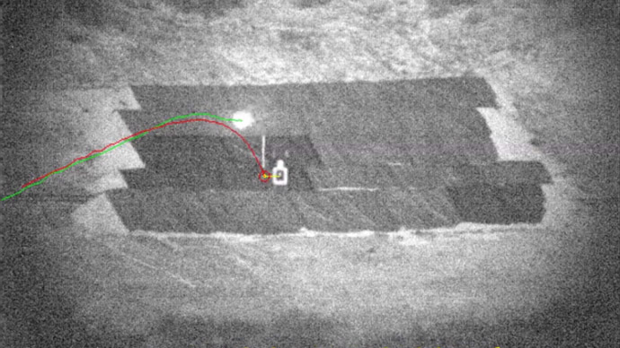 DARPA's guided bullets hit their targets, even when they're moving (VIDEO)