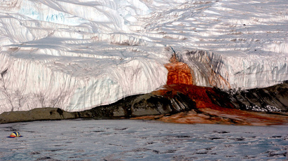 Antarctica's sinister Blood Falls could be a sign of life on Mars