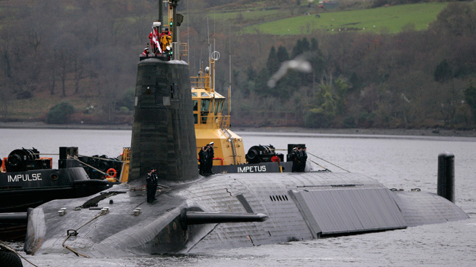 Tories 'playing politics' with Trident nukes, says Labour