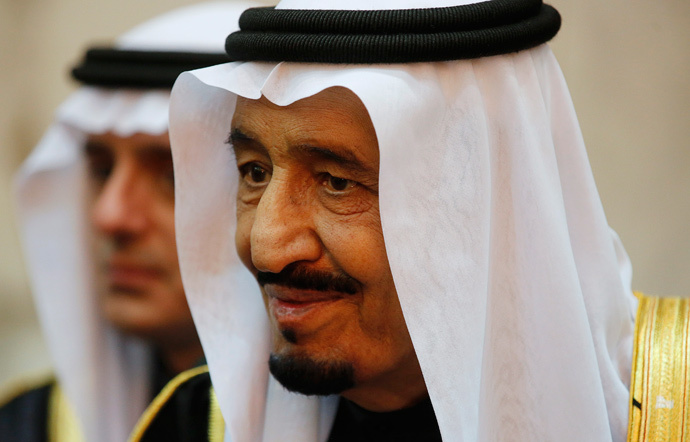 Saudi Arabia's King Salman (Reuters / Jim Bourg)