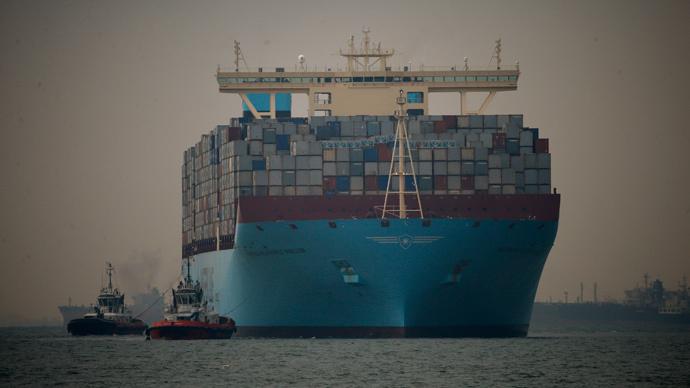 Briton aboard Maersk Tigris cargo ship seized by Iran, FO confirms