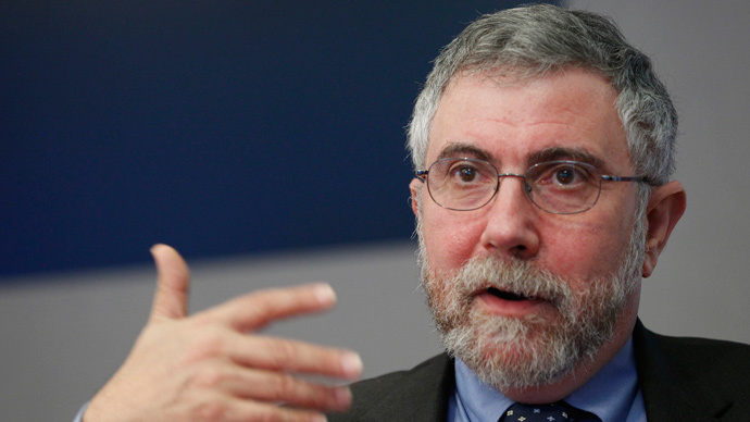 'The austerity delusion is dead, unless you're British,' says Paul Krugman
