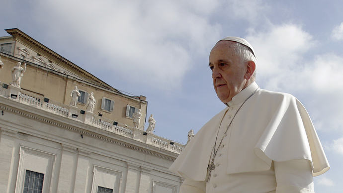 'Pure scandal': Pope Francis slams pay disparity between men & women