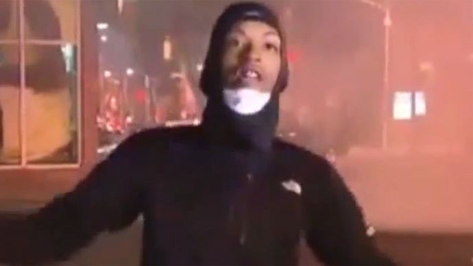 Where is #JosephKent? Prominent Ferguson activist snatched by police live on TV in Baltimore