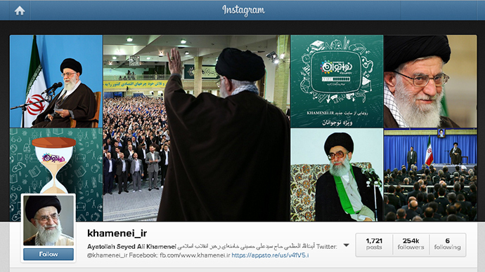 Social media savvy? Iran's supreme leader beats 15-second Instagram policy