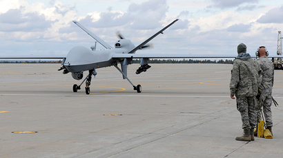 A US Air Force MQ-9 Reaper unmanned aerial vehicle. (Reuters / Staff Sgt. Ricky Best)