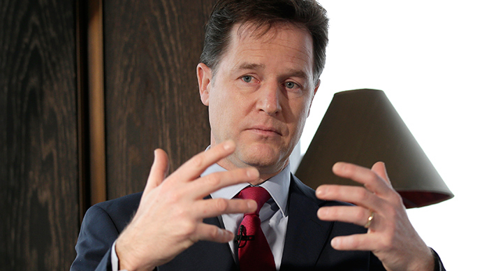 Leadership fail: Clegg, Farage, Murphy & Bennett won't be elected, figures suggests