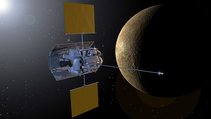 ​End of era: NASA's Messenger probe to meet explosive fate as it crashes into Mercury