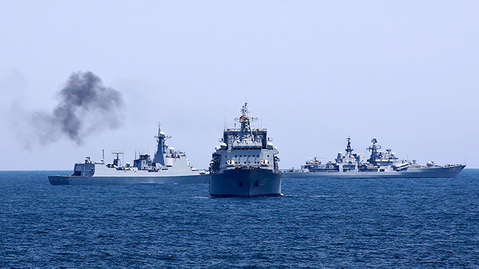 ​China, Russia to hold first-ever Mediterranean naval exercise