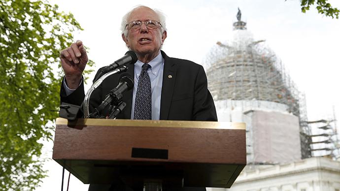Enter the Sand-man: Socialist Bernie Sanders blasts billionaires, corporations in presidential bid announcement