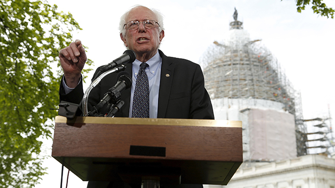 Enter the Sand-man: Socialist Bernie Sanders blasts billionaires, corporations in presidential bid announcement