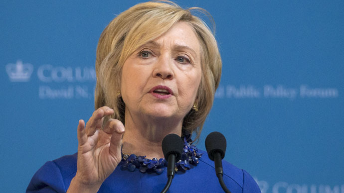 Democratic presidential candidate Hillary Clinton (Reuters/Brendan McDermid)