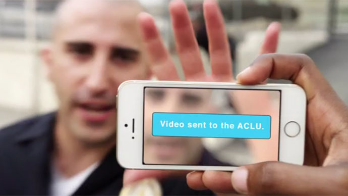 ACLU wants Californians to record the cops