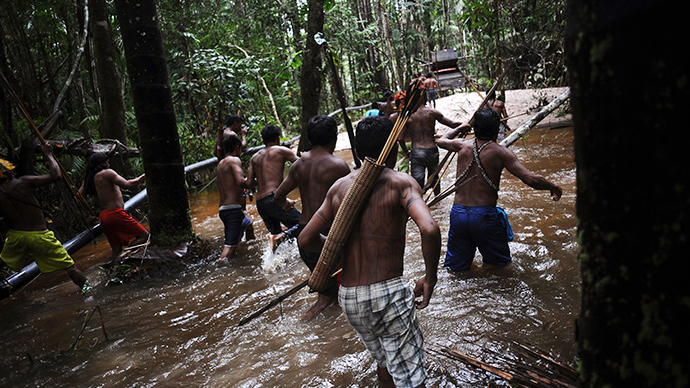 Amazonian tribes unite against Brazil's controversial plans for hydroelectric dams
