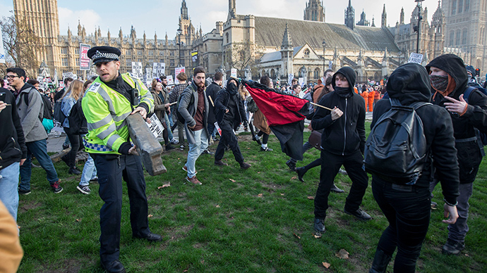 ​Occupy Democracy fight corporate power in 10-day spectacle of dissent