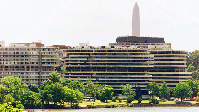 'Catastrophic collapse' in garage of historic Watergate complex