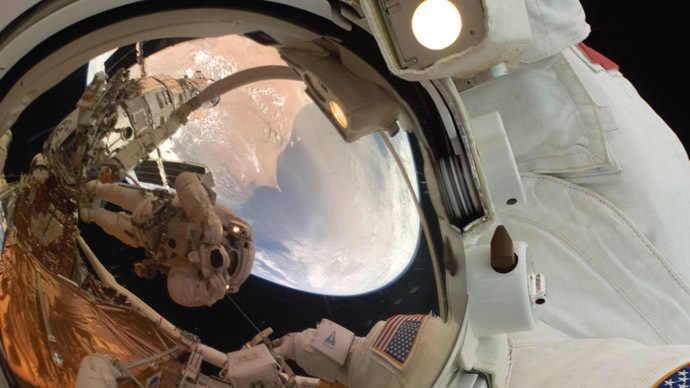 Spaced out: Cosmic rays could cause brain damage to Mars astronauts