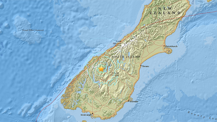 5.6 magnitude quake strikes New Zealand