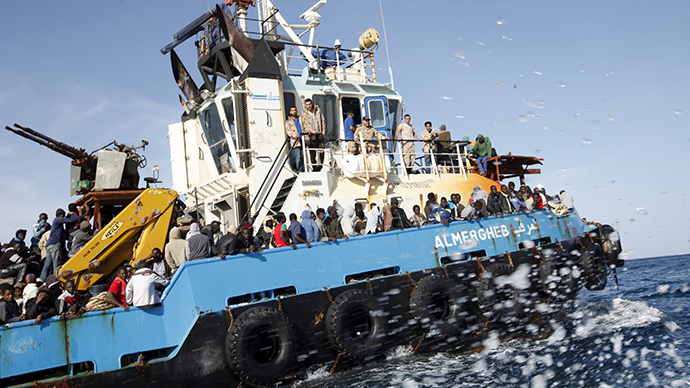6,800 migrants recovered from Mediterranean in 48 hours