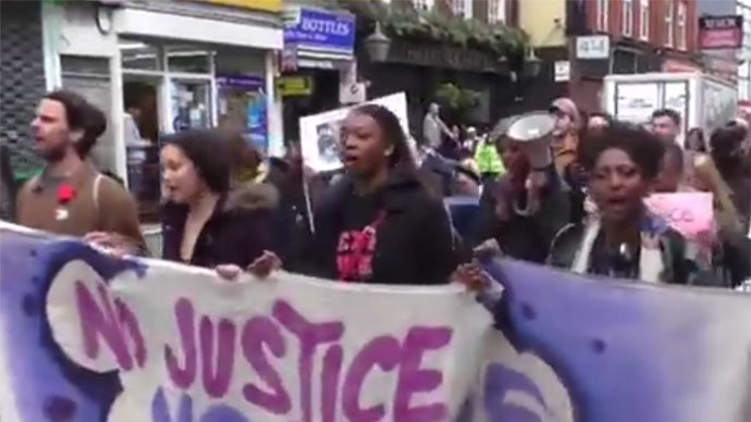 Brixton for Baltimore: Hundreds march in London in solidarity rally (VIDEO)