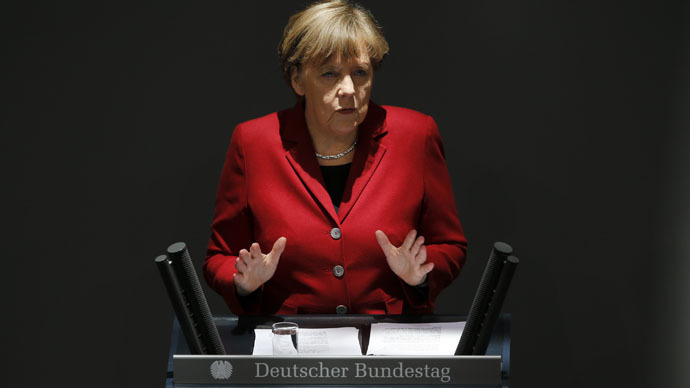 Merkel defends German intelligence agency over spying for NSA claims