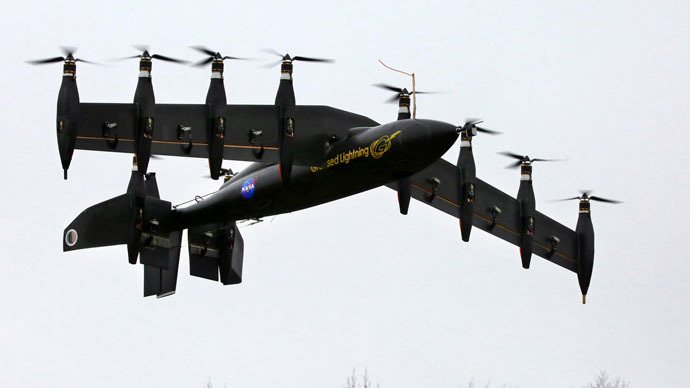 Drone, helicopter or plane? NASA tests 10-engine electric aircraft (VIDEO)