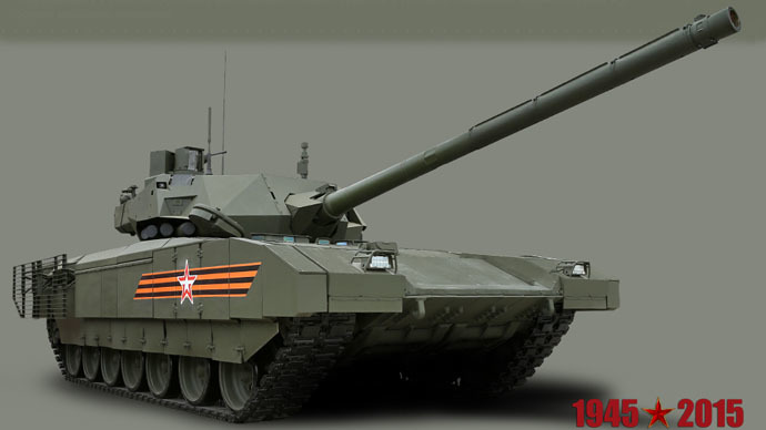 'Meter of armor': Armata's next supreme 152mm gun to sport super-piercing shell