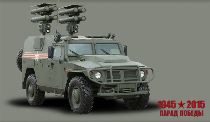 Kornet-D self-propelled anti-tank complex, courtesy Russian Defense Ministry