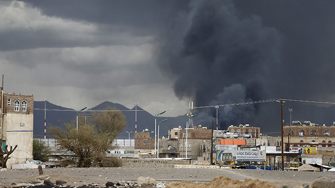 UN urges Saudi-led coalition to stop bombing Yemen's intl airport